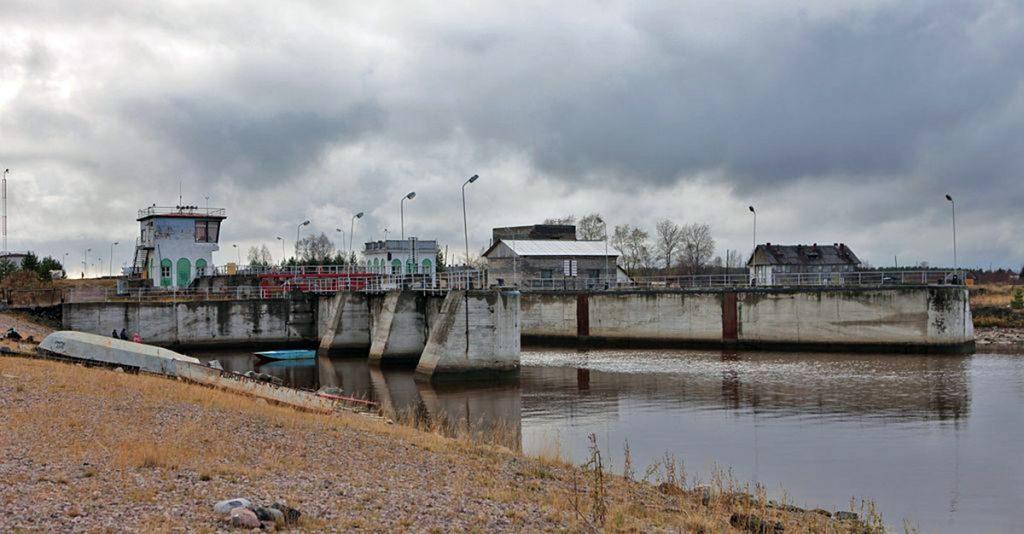 Canal en Belomorsk