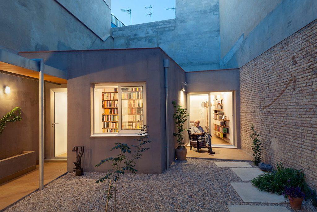 Casa-Estudio para un editor Fent Estudio 6 © Milena-Villalba