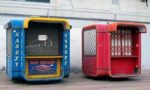 El mobiliario urbano y la revolución. Los kioscos | Jelena Prokopljević