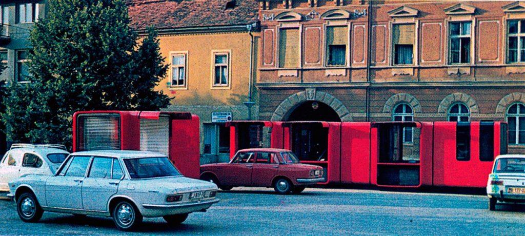 Kiosco K67-individual de Sasha Mächtig, 1966.