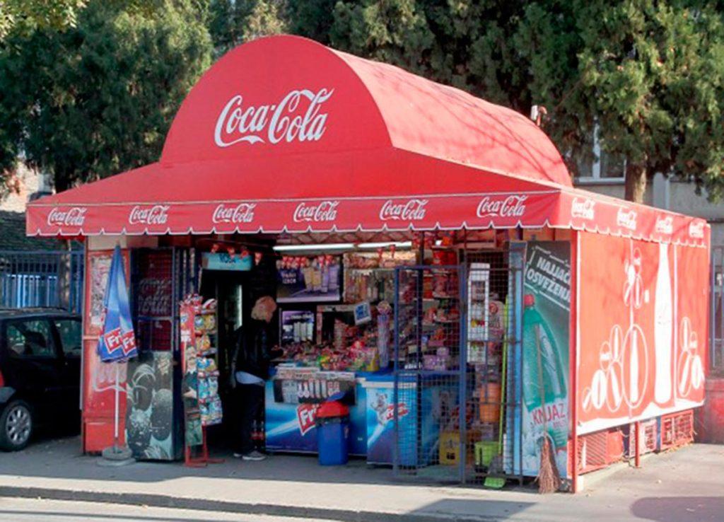 Kiosco tienda.