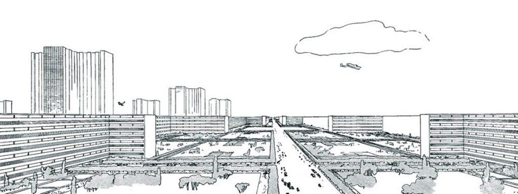 La Ville Radieuse (La Ciudad Radiante). Le Corbusier. 1924–1933