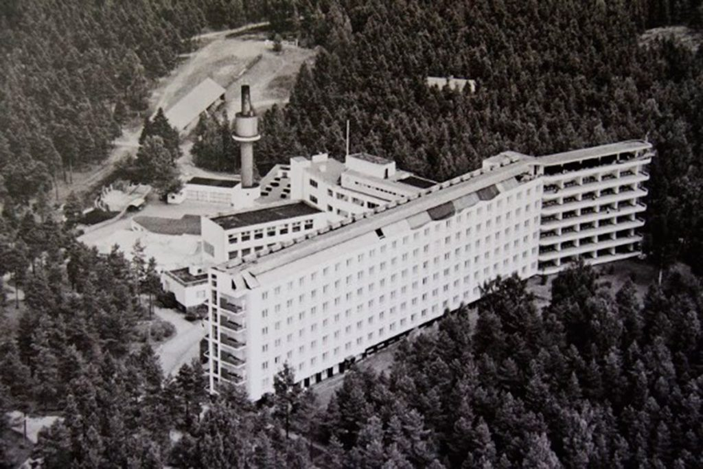 Sanatorio de Paimio, diseñado por Alvar Aalto en 1929