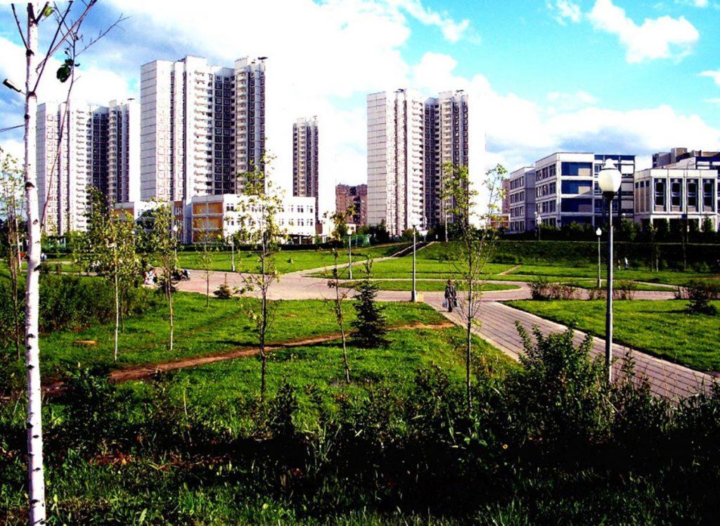 Microdistrito 16 de Zelenograd, Moscú.