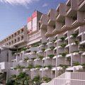 Hotel Adriatic en Opatija, 1970-1971, arquitecto Branko Žnidarec.
