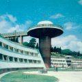 Hotel en Alushta, Crimea (foto años 80).