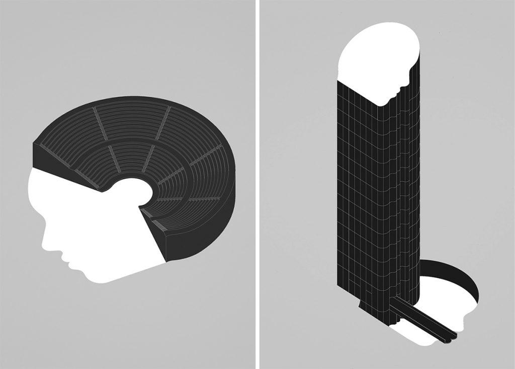 Ego construido, 2018. Ilustración editorial. Series © memosesmas