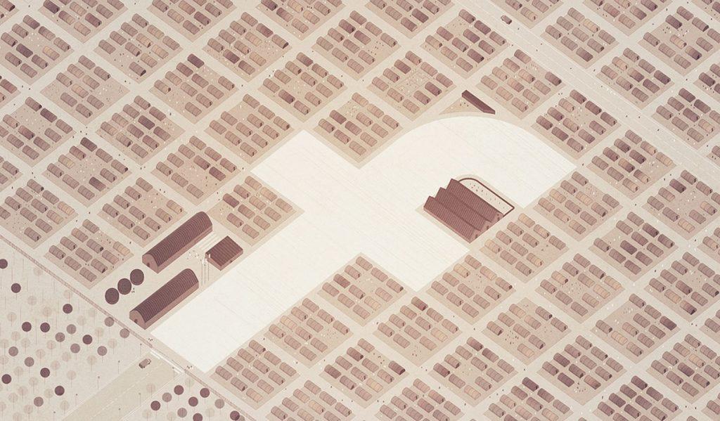 La imagen construida de la arquitectura para la cooperación, 2018. Ilustración artículo de Ana Asensio. Publicado en el blog de Fundacion Arquia. © memosesmas