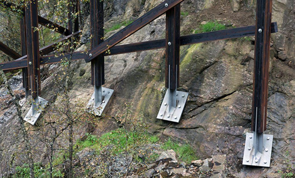 Museo de la mina de Almannajuvet (Noruega).