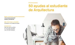 III Call for aid to the Student of Architecture Arquia Social
