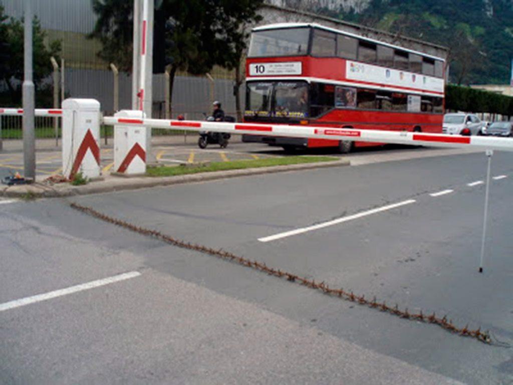 Frontera entre España y Portugal.