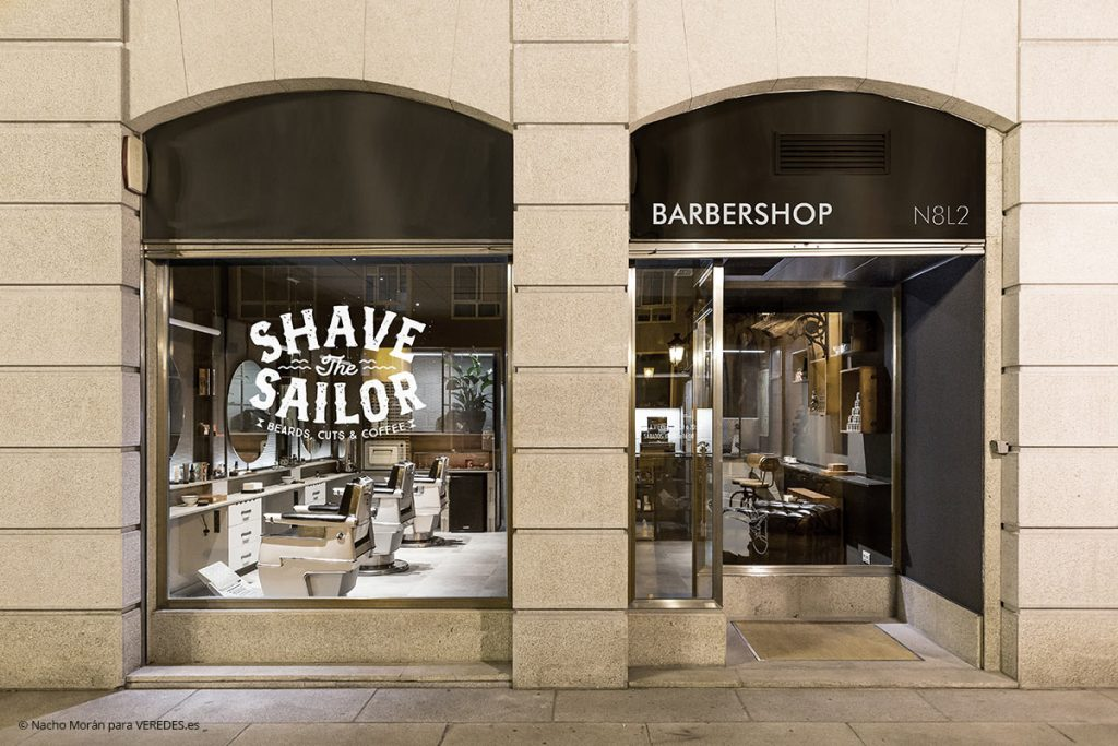 Shave the Sailor. Barbeshop N8L2 V&Ba estudio o7 Exto1