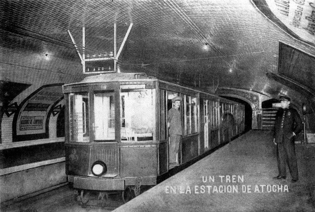 Estación de Atocha. Colección César Mohedas