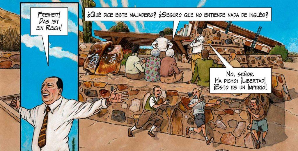MIES novela gráfica Agustín Ferrer Casas 2