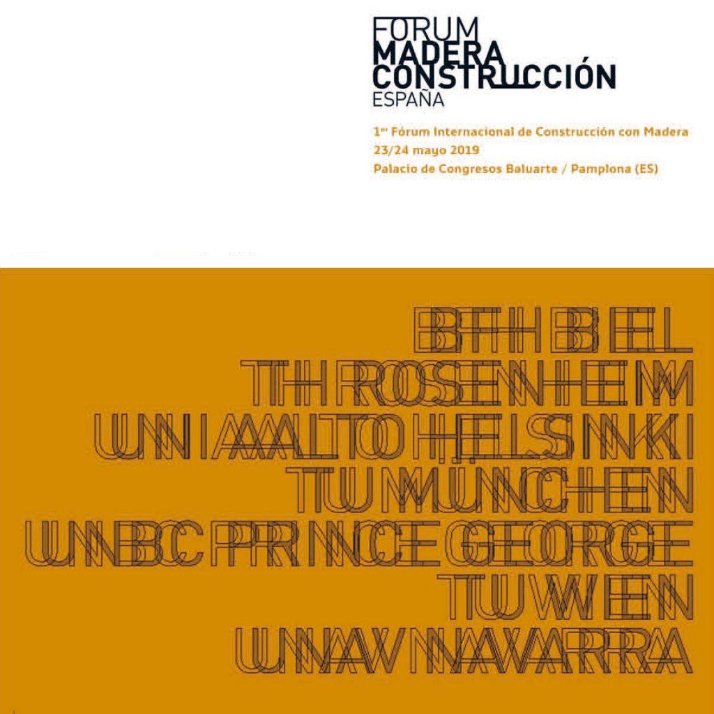 I Fórum Internacional de Construcción con Madera 2019