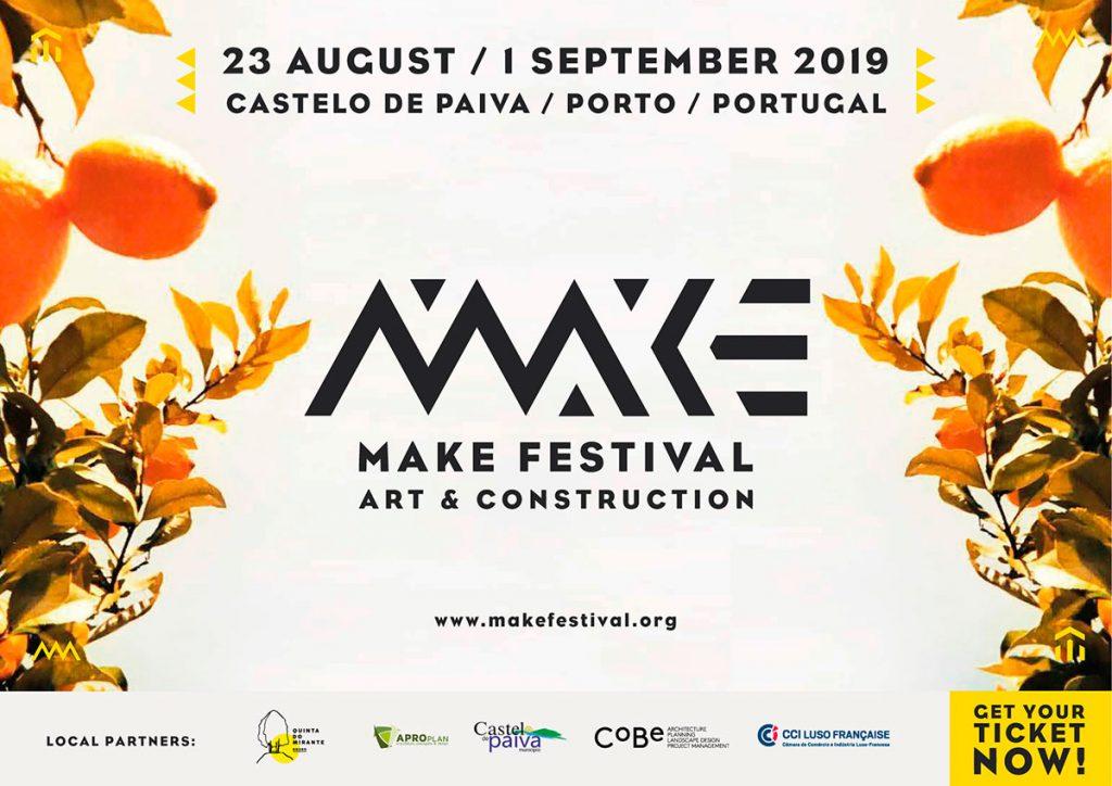 Make Festival 2019 Castelo De Paiva - Porto - Portugal