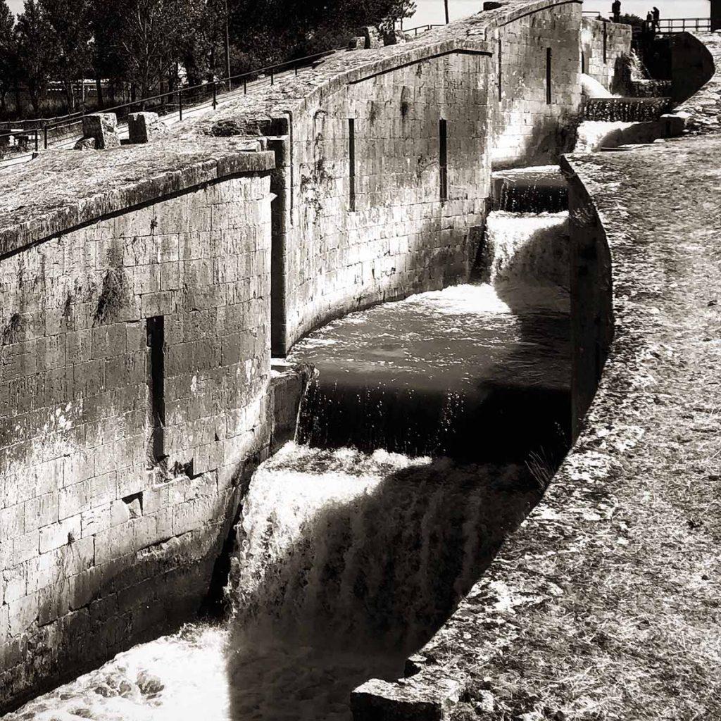 Cuádruple esclusa, Frómista | Fotografía: Jorge Meijide