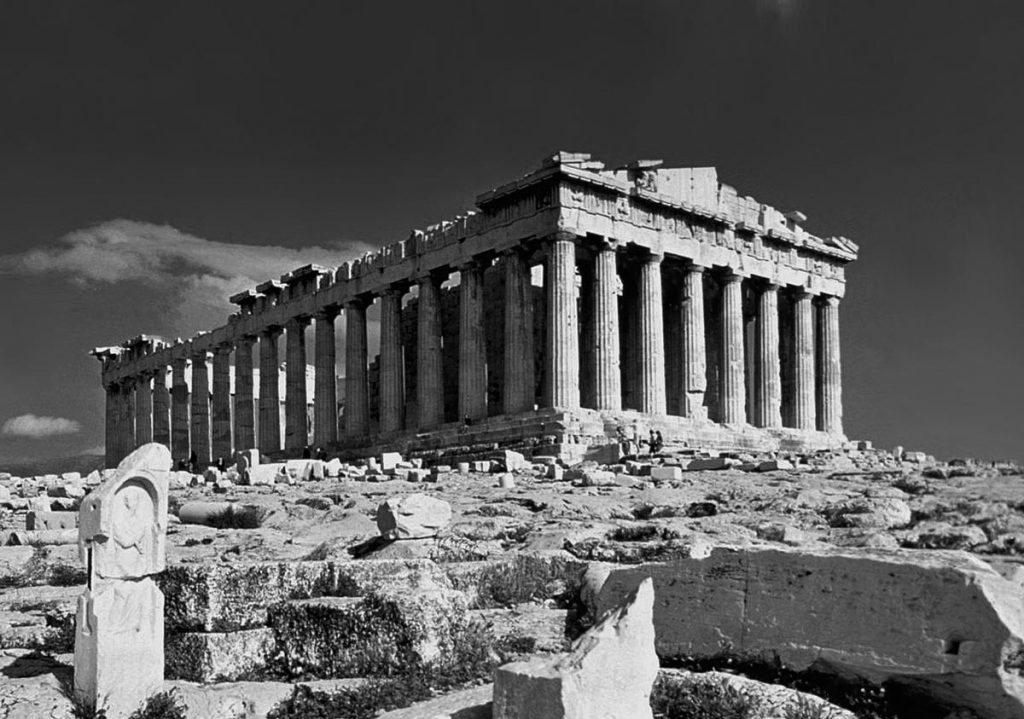 Partenón, Atenas, Grecia. Fotografiado en 1978 | Fuente: wikiepedia.org