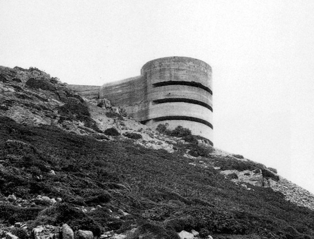 Búnker del muro atlántico | Fotografía: Paul Virilio, Bunker Archéologie, 1975.