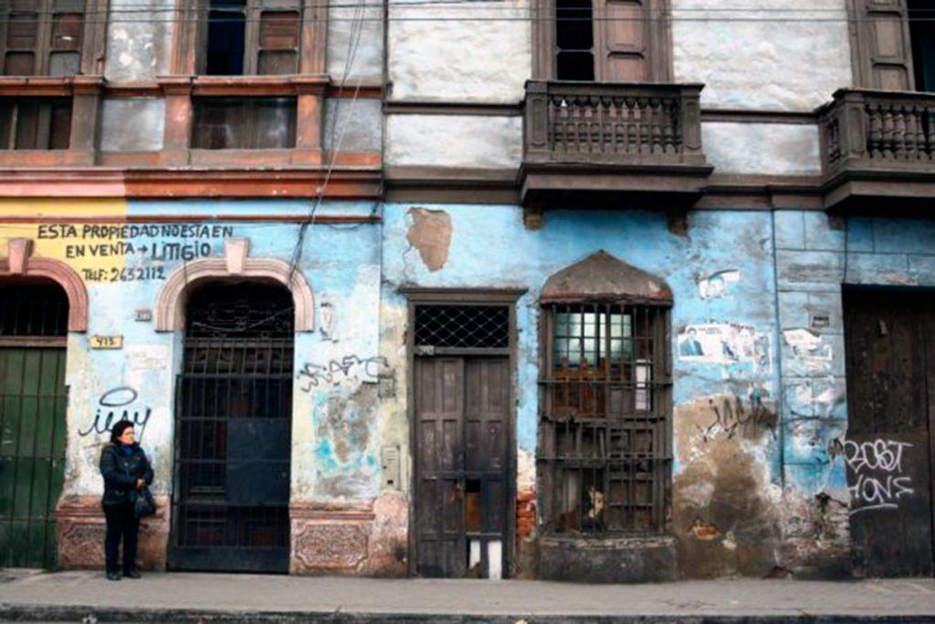 Lima, patrimonio en riesgo | Fuente: andina.pe