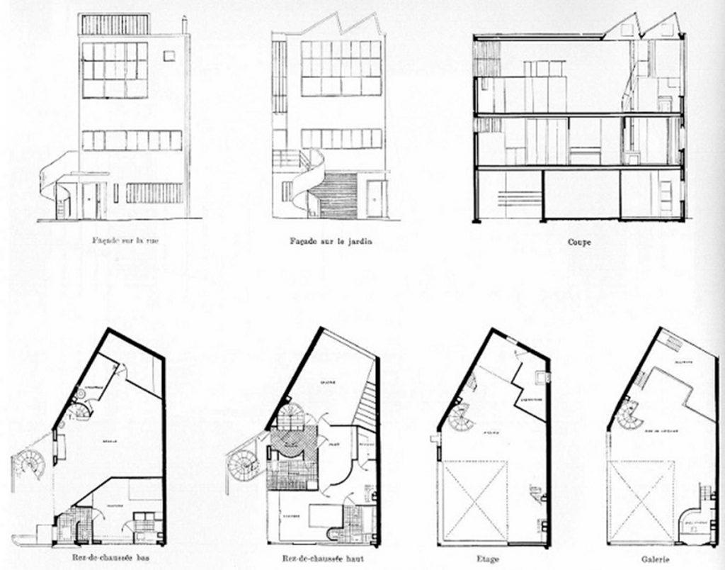 Atelier de la casa del pintor Amádée Ozenfant