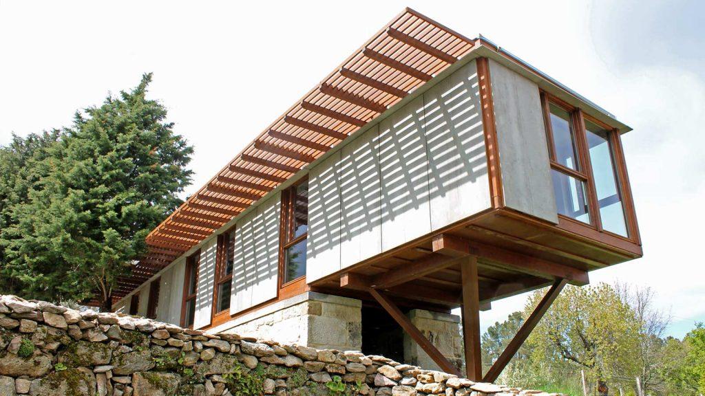 Alberto Corral Corral · Ubuild, un nuevo sistema constructivo en madera 1