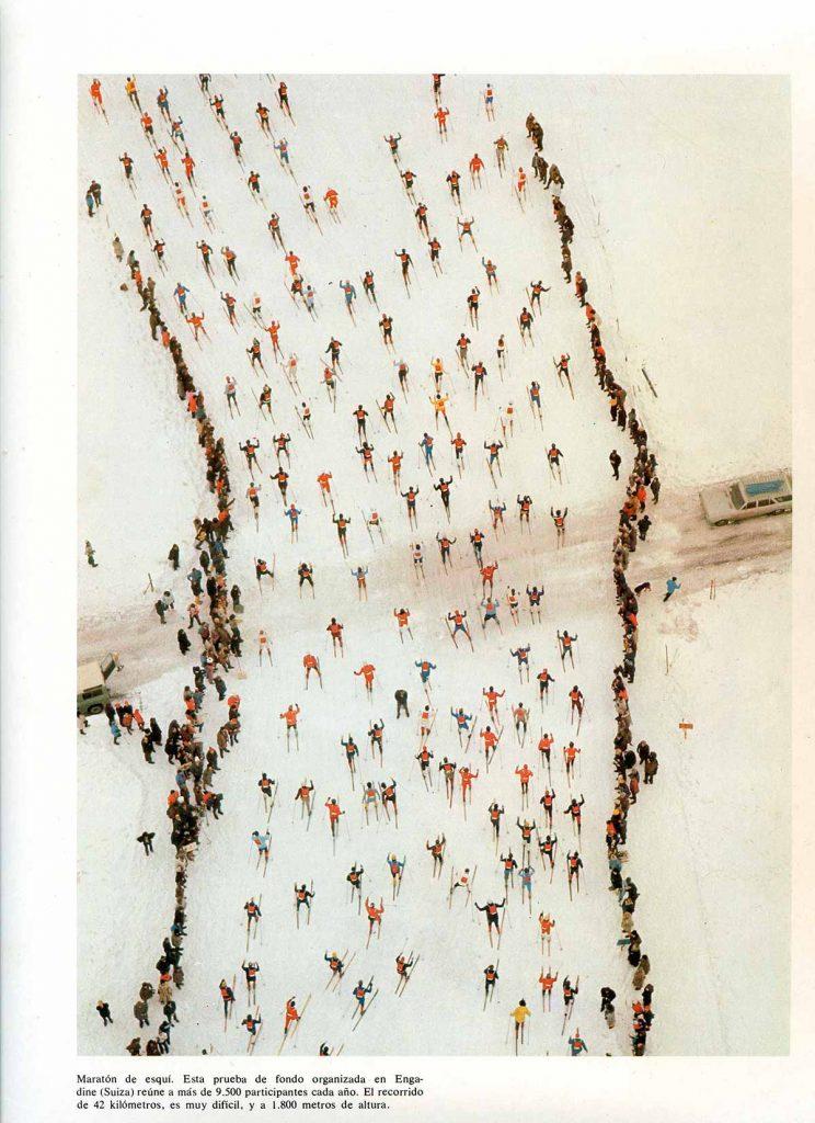 Engandin marathon, Georg Gerster (1972)