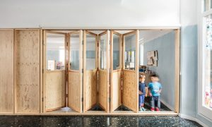 Can Rosés temporary school in Barcelona | vora