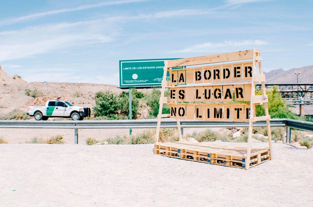Letras a La Border - Nómada Laboratorio Urbano