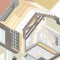 Reconstrucciónde vivienda en Saa MOL Arquitectura 12 isometría-constructiva