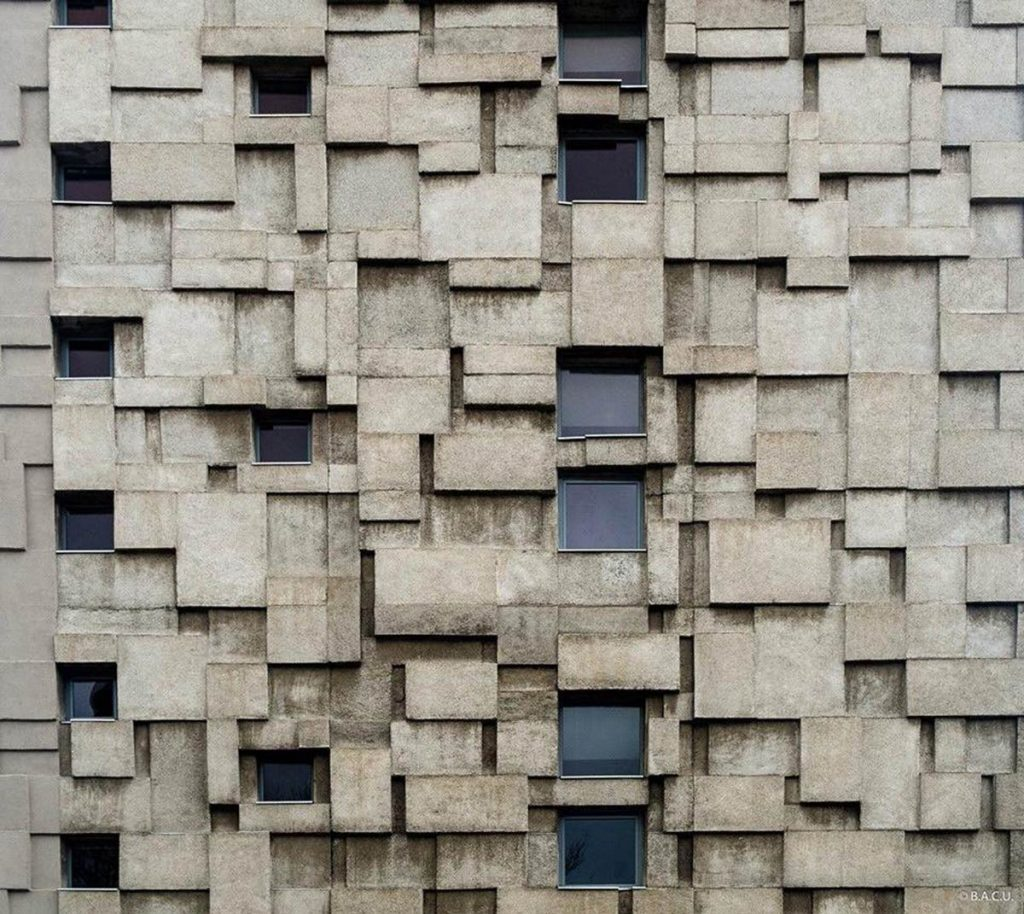 Edificio de correos y telefonía, Cluj-Napoca, Romania, Vasile Mitrea arq. 1966-69. Foto: D. Rusu © BACU