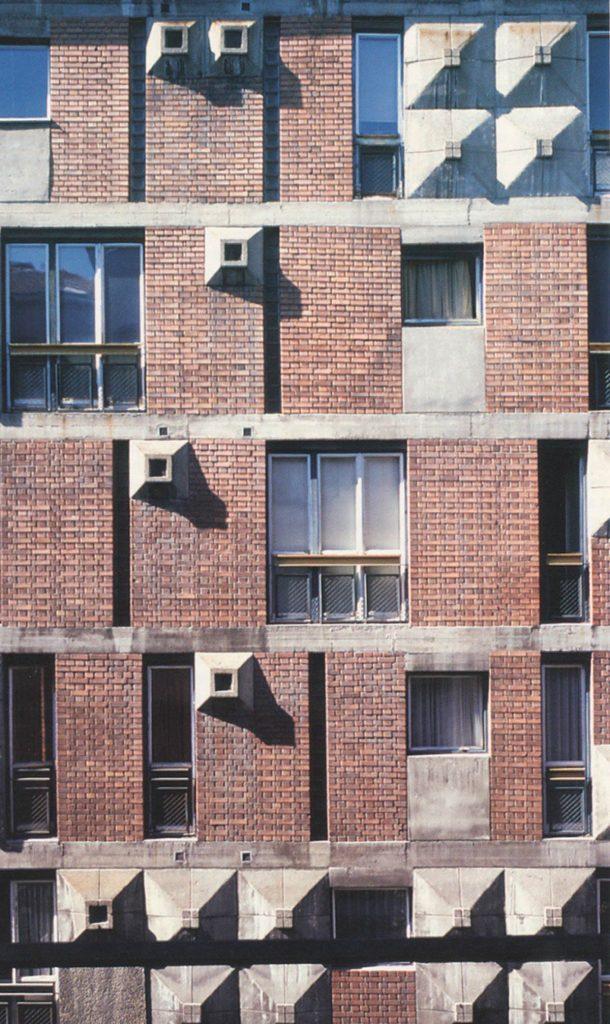 Viviendas en Belgrado, Mihajlo Mitrović arq. 1964. Foto: M. Perovic.