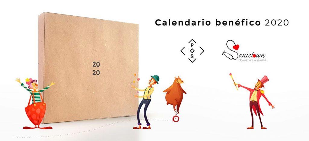 12 artistas colaboran con la Organización Nacional de Payasos de Hospital Saniclown Esto no es un calendario Banner