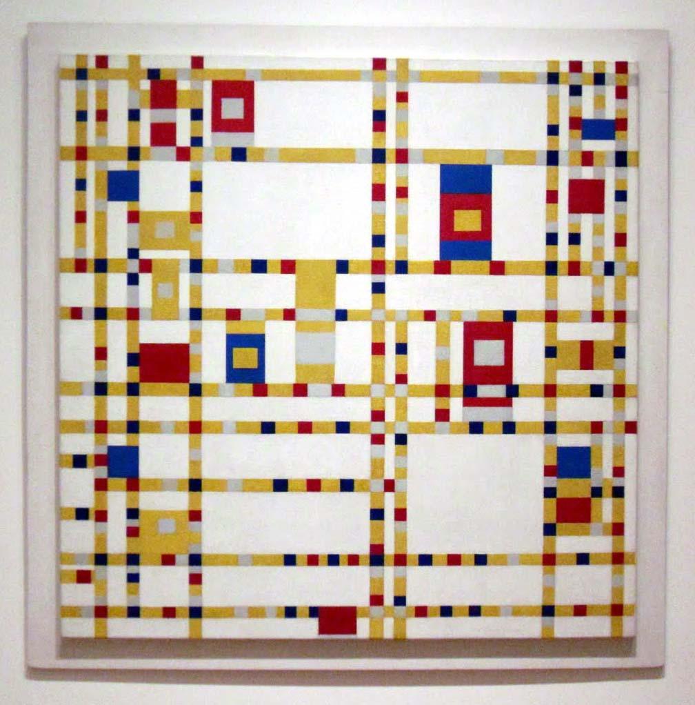 Piet Mondrian, Broadway Boogie-Woogie, 1942-43