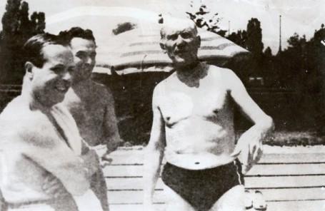 Antonio Bonet con Sert y Le Corbusier. Por sphotos.ak.fbcdn.net