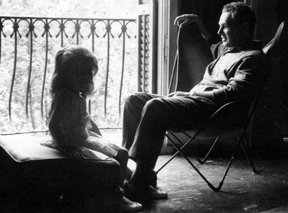 Bonet y su hija en la BKF. Por bigbkf.com.ar