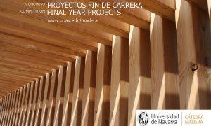VIII Concurso Cátedra Madera. Premio al mejor Proyecto Fin de Carrera con empleo de madera
