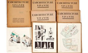 Colección completa de la revista L'Architecture Vivante (1923-1932)