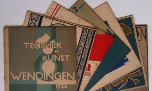 Colección completa de la revista holandesa Wendingen 1918-32