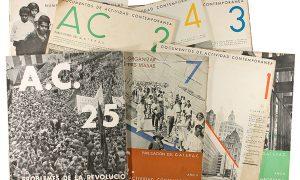 Colección completa de la revista AC. Documentos de actividad contemporánea (1931-37)