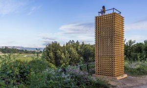 Dos torres y un sendero | Azócar Catrón Arquitectos