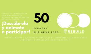 Sorteo de 50 entradas Business Pass para Rebuild 2020. Building the new era