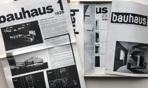 Colección completa de la Revista Bauhaus