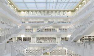 Cuando la geometría genera el proyecto: bibliotecas | Ángel Granda Pérez