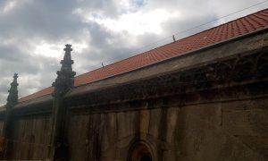 Rehabilitación de las cubiertas de la basílica de Santa María la Mayor en Pontevedra