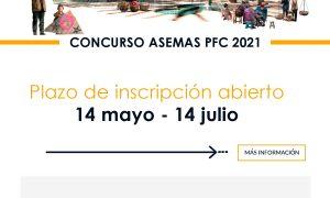 IV Concurso ASEMAS PFC dirigido a jóvenes arquitectos españoles