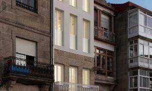 Berbés 41, dos viviendas sociales en el Casco Histórico de Vigo | irori arquitectura