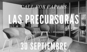 Call for Papers. VAD 06. Las precursoras