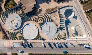 Implantación de distintos usos deportivos en Sant Francesc Xavier   MCEA (Manuel Costoya Estudio de Arquitectura)