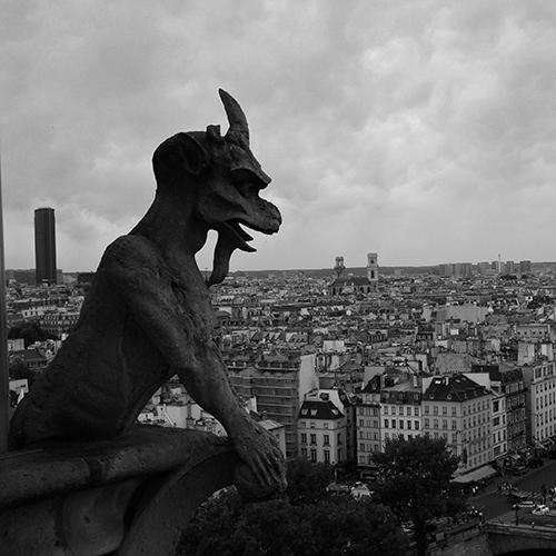 Vista panorámica desde la cubierta de Notre de Dame de París. Autor Maszkaron, Sakrum CC0 Public Domain Fuente httpspxhere.comesphoto780365 (consulta 25 mayo de 2019)